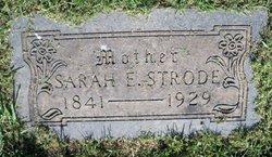 Mrs Sarah E. Strode