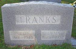 Emma Jane <I>Homer</I> Franks