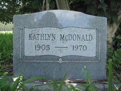 Kathlyn <I>Swinson</I> McDonald