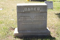 """Mother"" Bauer"