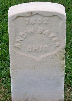 Pvt Andrew W. Baker