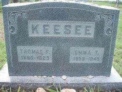 Emma Terrissa <I>Lackey</I> Keesee