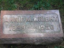Anna Marie <I>Hulse</I> Wright