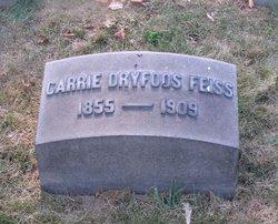 """Caroline """"Carrie"""" <I>Dryfoos</I> Feiss"""