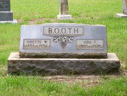Ada F. Booth