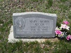 Mary <I>Morin</I> Alcon