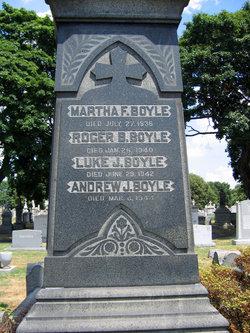 Marth F Boyle