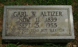 Garl Wesley Altizer