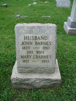 Mrs Mary <I>Jester</I> Barnes