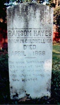 Ransom Hayes