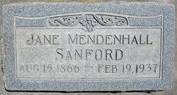 Eliza Jane <I>Mendenhall</I> Sanford
