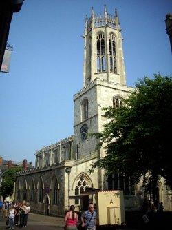 All Saints Pavement Churchyard