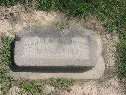 Mahala A. <I>Padgett</I> McBride
