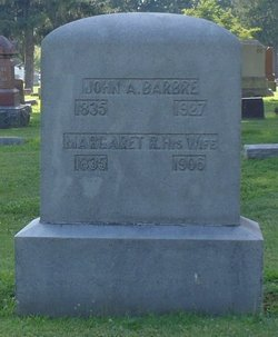 Margaret R. <I>McKee</I> Barbre