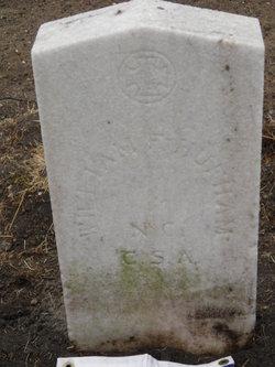 Pvt William F Hufham