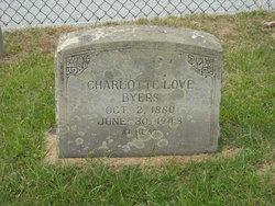 Charlotte Elizabeth <I>Love</I> Byers