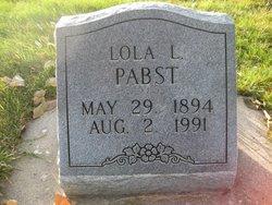 Lora Leola <I>Lynch</I> Pabst