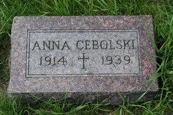 Anna <I>Cieslak</I> Cebolski