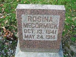 Rosina <I>Yagerlehner</I> McCormick