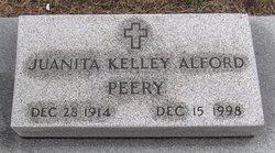 Juanita <I>Kelley</I> Alford Peery