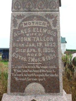 Agnes <I>Ellwood</I> Tallon