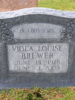 Viola Louise <I>Crown</I> Brewer