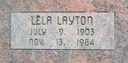 Lela <I>Layton</I> Hess