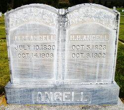 Mary Melissa <I>Crain</I> Angell