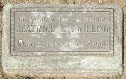 """Beatrice """"Bea"""" <I>Mower</I> Twilling"""