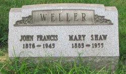Mary <I>Shaw</I> Weller