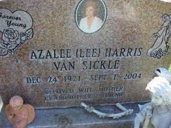 "Azalee ""Lee"" <I>Harris</I> Crump VanSickle"