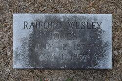 Raiford Wesley Jones