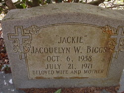 "Jacquelyn W. ""Jackie"" Biggs"