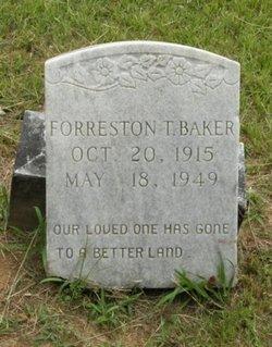 Forreston T Baker