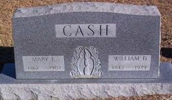 Mary <I>Ellenburg</I> Cash
