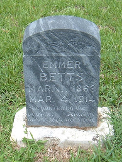 Emmer (Emma) <I>Simons</I> Betz