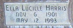 Ella Lucille <I>Harris</I> Tilley
