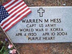Warren M. Hess