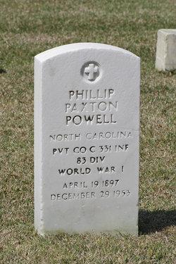 Pvt Phillip Paxton Powell
