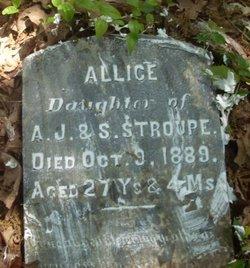 Allice Stroupe