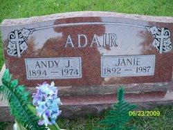"Andrew Jackson ""Andy"" Adair"