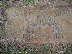 Mary <I>Bradshaw</I> Skidmore