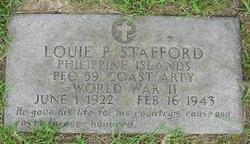 PFC Louie P Stafford