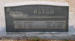 Annie Foster <I>Crump</I> Aston