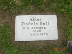 Alice T <I>Tisdale</I> Ball