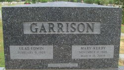 Ulas Edwin Garrison