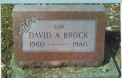 David A Brock