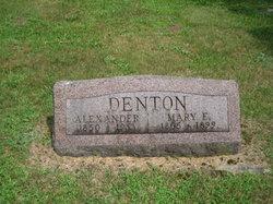 Mary E <I>Thayer</I> Denton