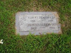 Frances Hortense <I>Hill</I> Dempsey