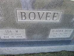 """O John """"Bud"""" Bovee"""